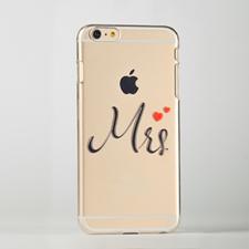 Mrs. Custom Raised 3D iPhone 6 Plus Case
