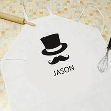 Men Personalised Adult Apron