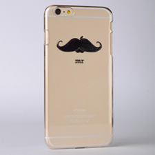Mustache Custom Raised 3D iPhone 6 Plus Case