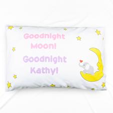 Goodnight Personalised Name Pillowcase