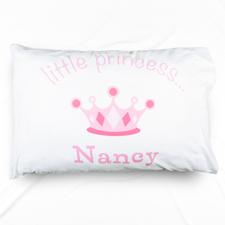 Little Princess Personalised Name Pillowcase