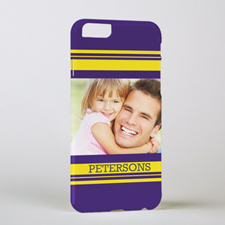 Stripe Personalised Photo iPhone 6 Case