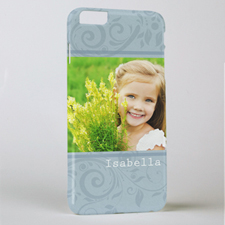Damask Personalised Photo iPhone 6+ Mobile Case