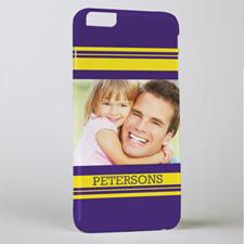 Stripe Personalised Photo iPhone 6+ Phone Case