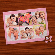 Personalised Baby Pink 6 Collage 12
