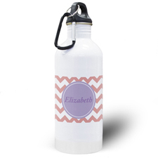 Carol Chevron Personalised Water Bottle
