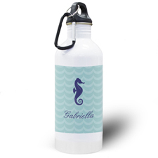Sea Horse Personalised Water Bottle