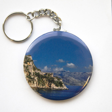 Photography Personalised Button Keychain