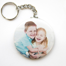 Photo Gallery Personalised Button Keychain