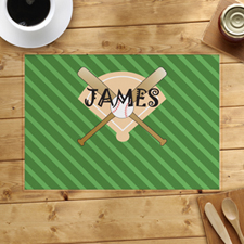 Baseball Personalised Placemat