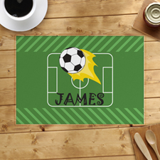 Football Personalised Placemat