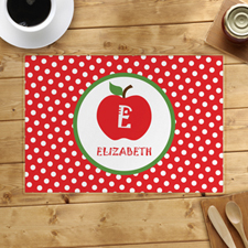Apple Personalised Placemat