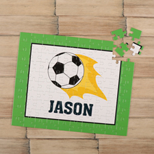 Soccer Personalised Kids Puzzle
