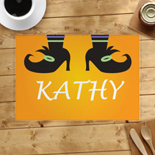 Personalised Halloween Placemat