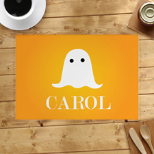 Ghost Personalised Halloween Placemat