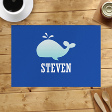 Whale Personalised Placemat