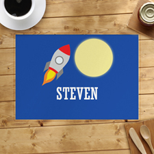 Rocket Personalised Placemat