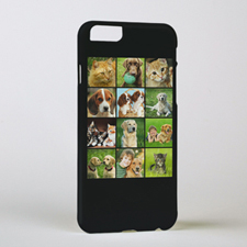Black Twelve Collage Personalised Photo iPhone 6 Case