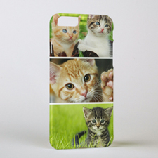 Three Collage Personalised Photo iPhone 6 Case