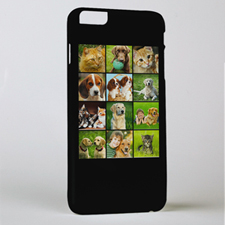 Black Twelve Collage Photo Personalised iPhone 6+ Case
