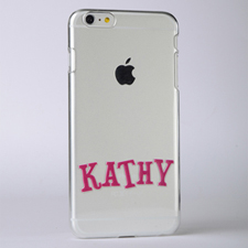 Personalised Name Raised 3D iPhone 6 Case