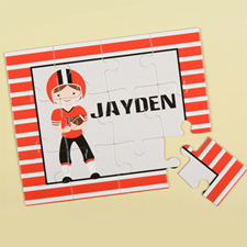 Football Personalised Kids Puzzle