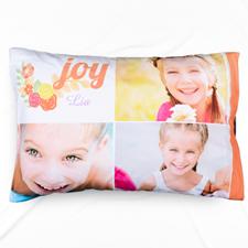 Joy Collage Personalised Pillowcase