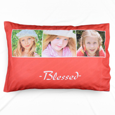 Blessed Collage Personalised Pillowcase