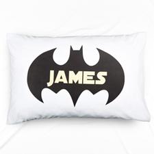 Bat Personalised Name Pillowcase