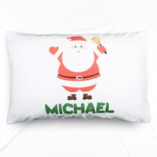 Santa Claus Personalised Name Pillowcase