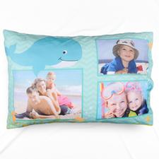 Tropical Sea Personalised Photo Pillowcase