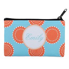 Artistic Floral Personalised Cosmetic Bag 4