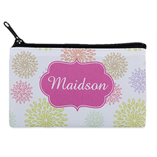 Summer Floral Personalised Cosmetic Bag 4