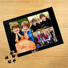 Personalised Black 3 Collage 12