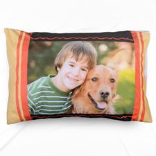 Mustard Personalised Photo Pillowcase