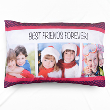 Best Friend Collage Personalised Pillowcase