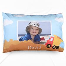 Truck Personalised Photo Pillowcase