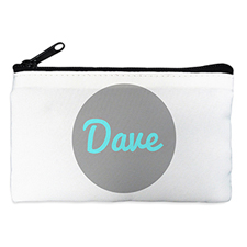 Monogrammed Personalised Cosmetic Bag