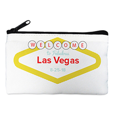 Las Vegas Wedding Personalised Cosmetic Bag