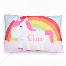 Unicorn Personalised Name Pillowcase