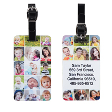 Instagram Personalised Luggage Tag