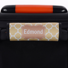 Brown Clover Personalised Luggage Handle Wrap