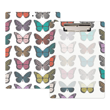 Butterflies Personalised Clipboard