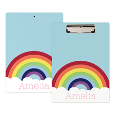 Rainbow Personalised Clipboard