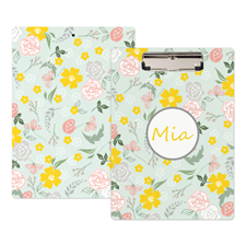 Floral Personalised Clipboard