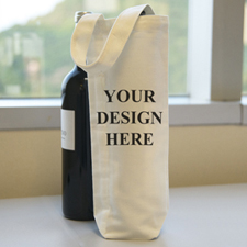 Personalised Wine Cotton Tote Bag Bag