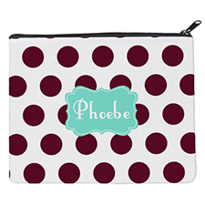 Plum Dot Mint Personalised 8