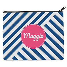 Navy Stripe Personalised 8
