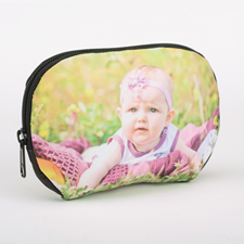 Custom Photo Zipper Pouch (Large)