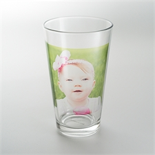 Personalised Photo Drinking Glass